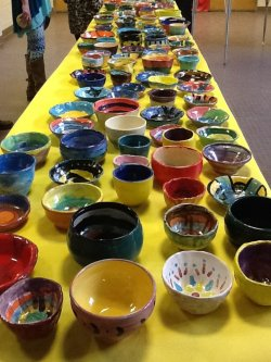 Empty Bowls Filling Bellies