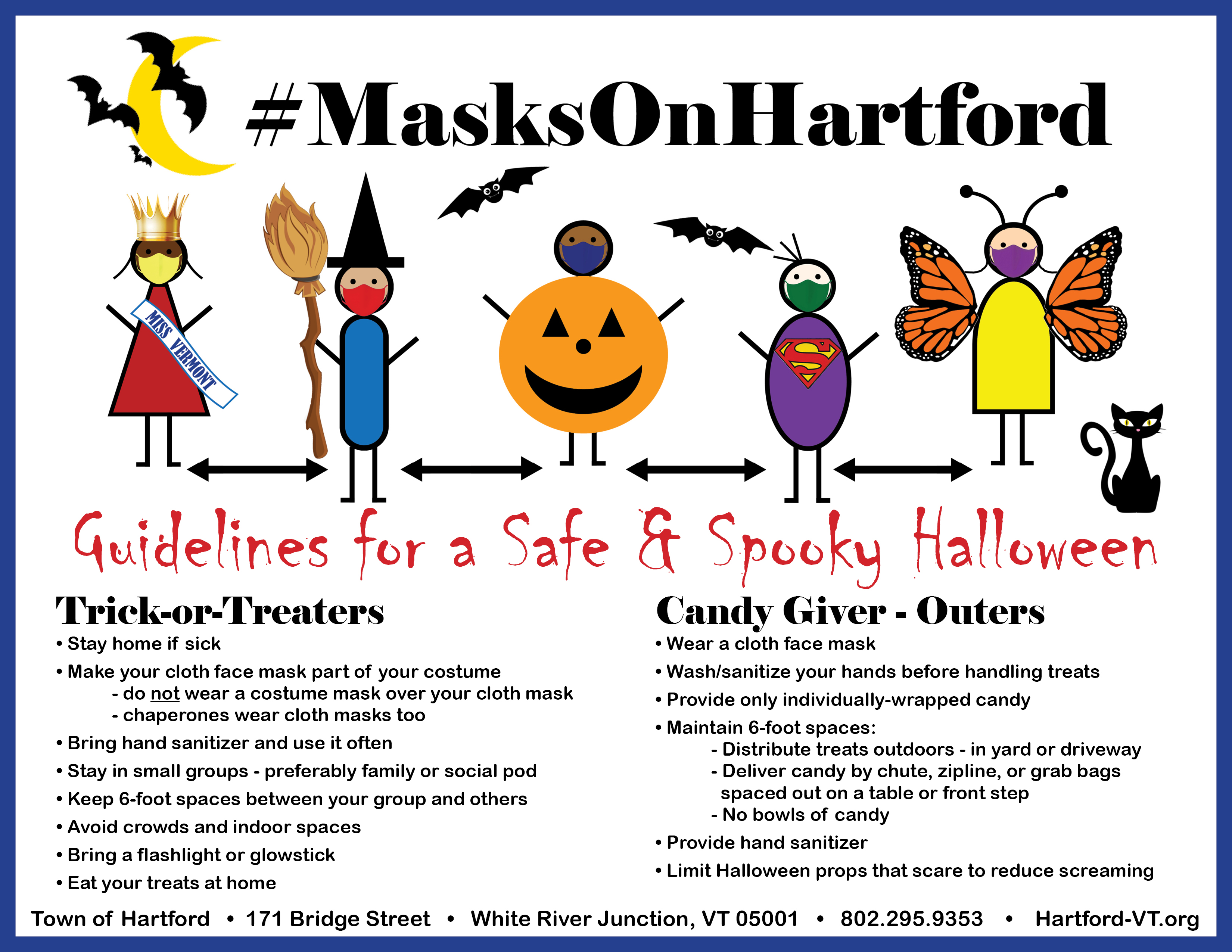 Hartford Halloween Safety Guidelines